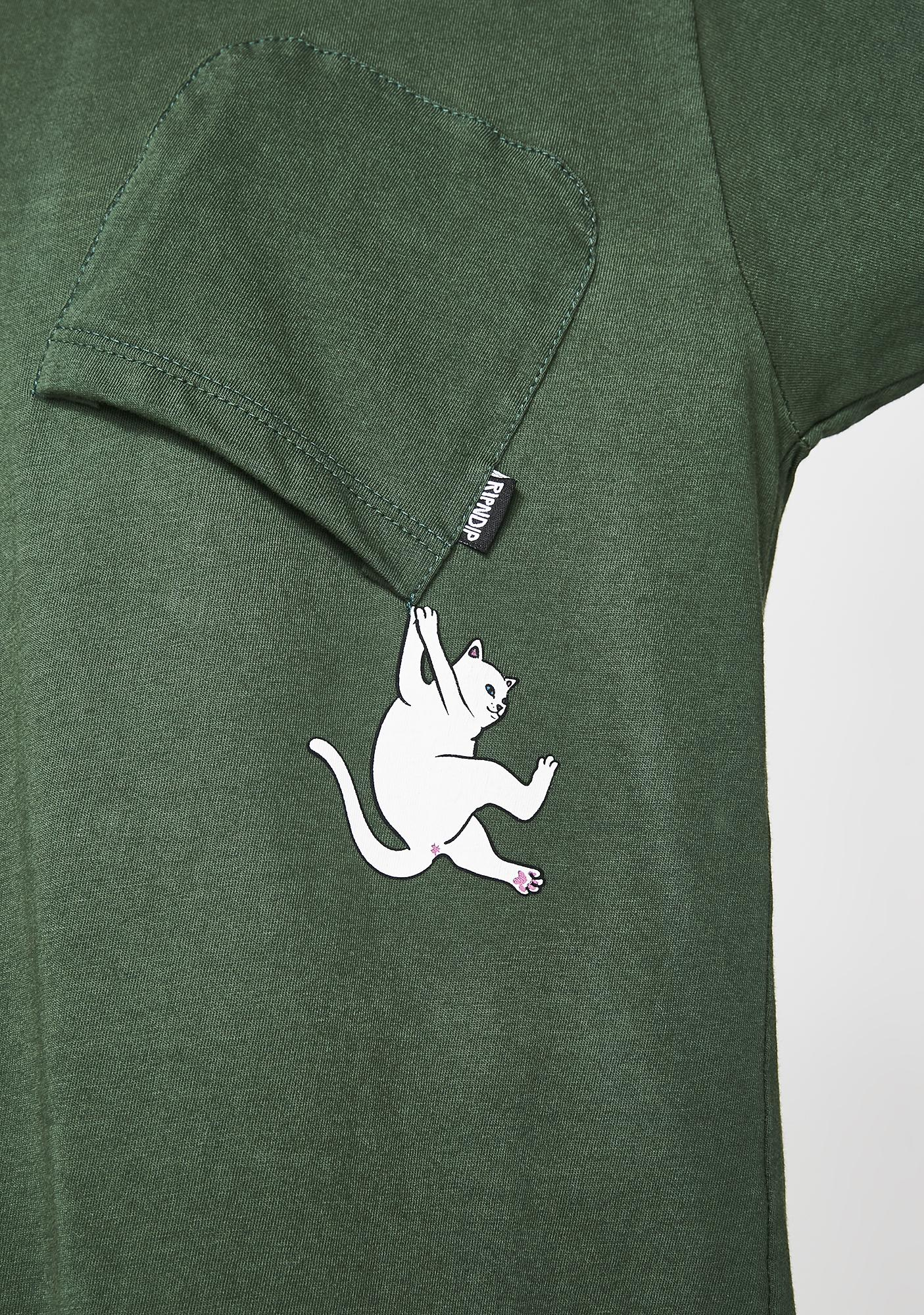 RIPNDIP Hunter Hang In There Pocket Tee