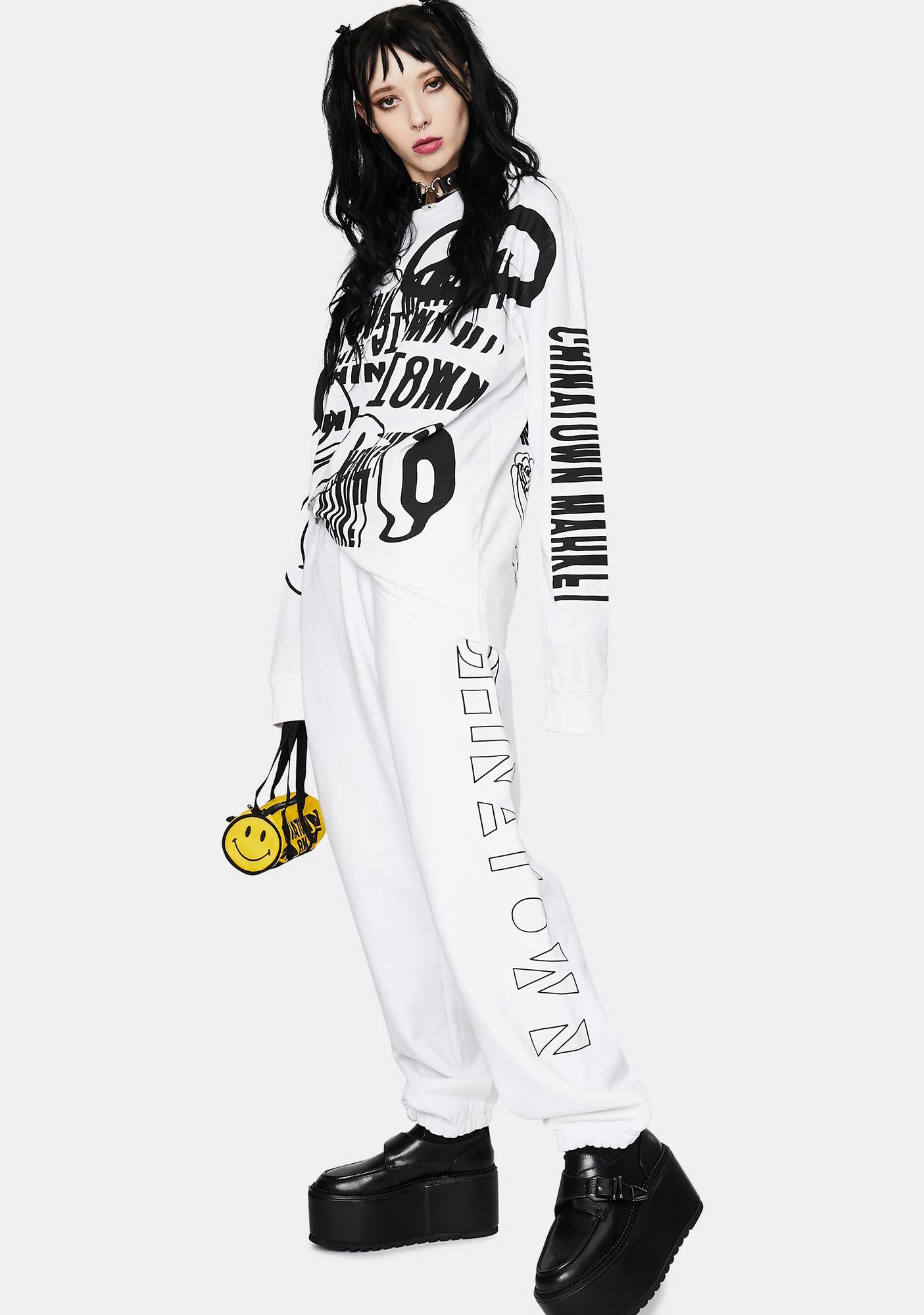 CHINATOWN MARKET UV CTM Graphic Sweatpants