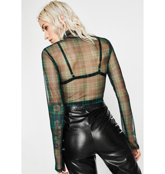 Ivy Maybe Never Mesh Top