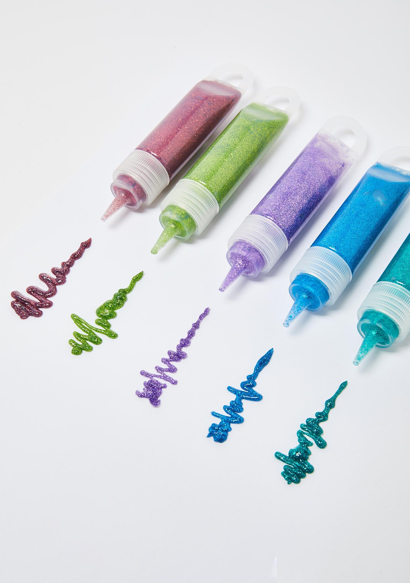 Always Shining Glitter Fabric Paint