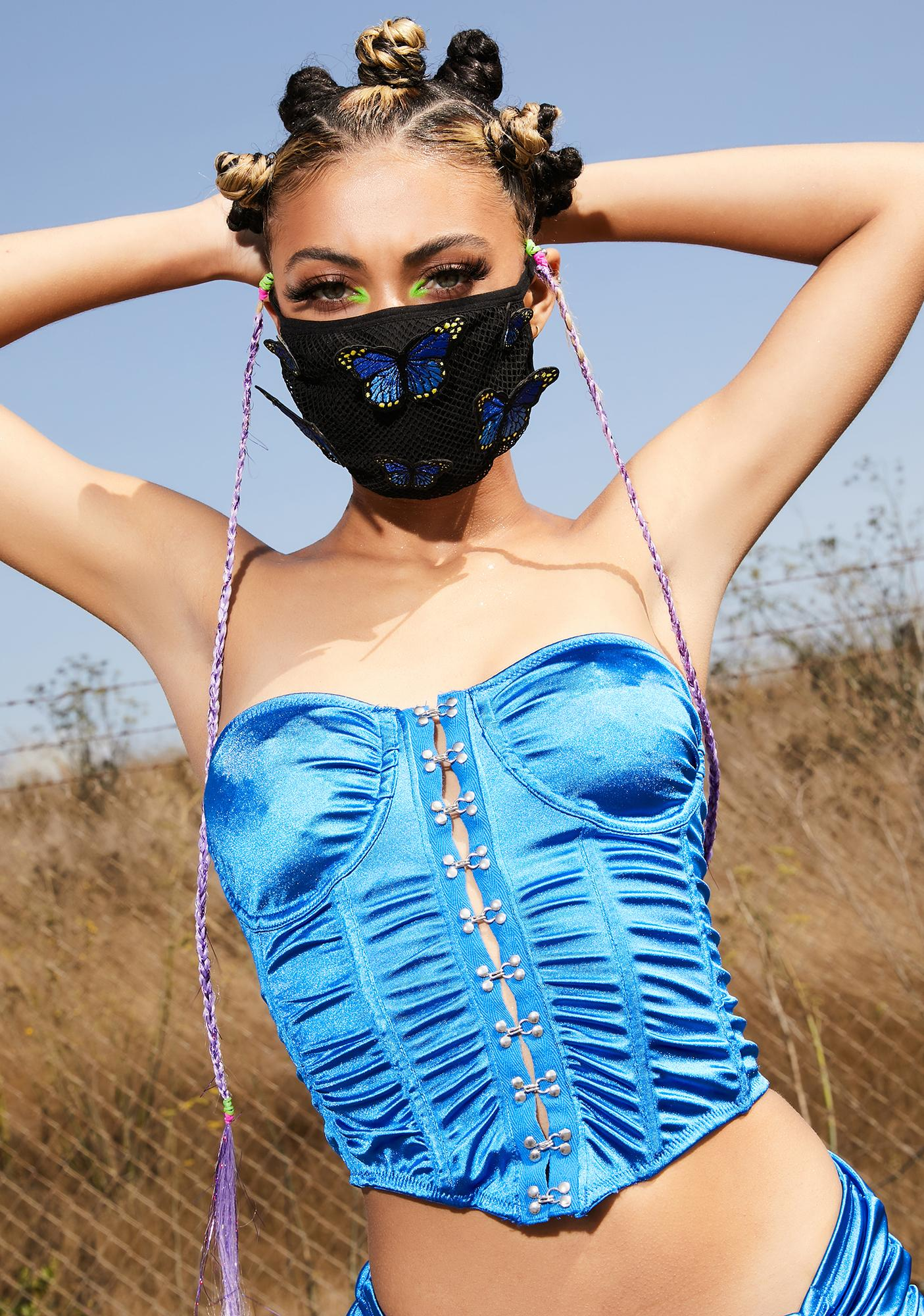 Club Exx Metamorphic Butterfly Face Mask