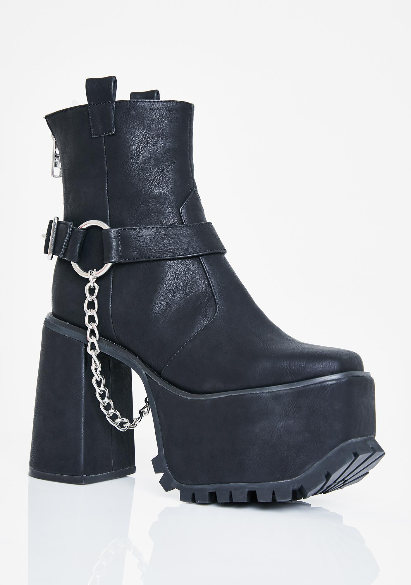 Current Mood Moto Drip Harness Boots