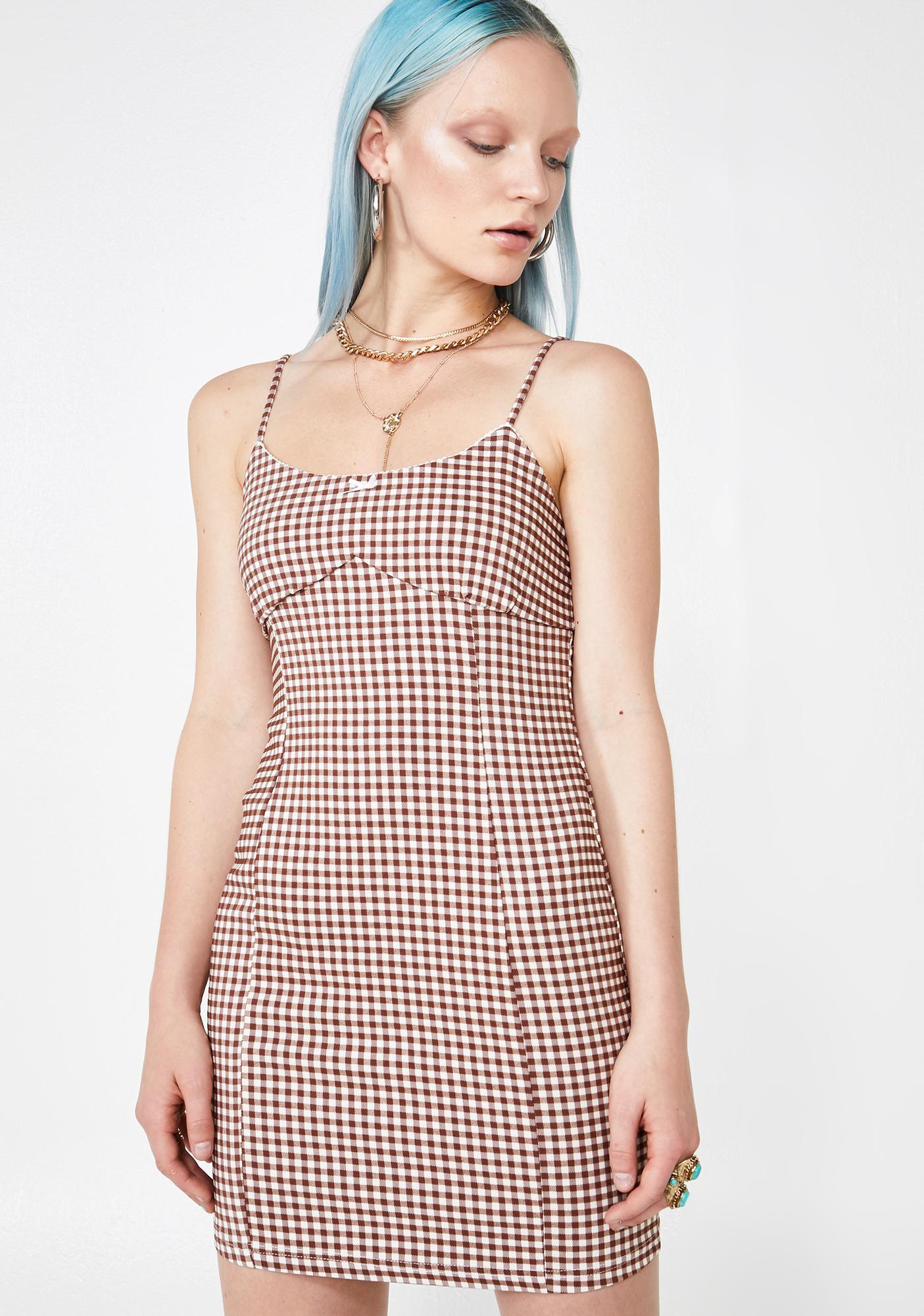 Brunch Babe Gingham Dress