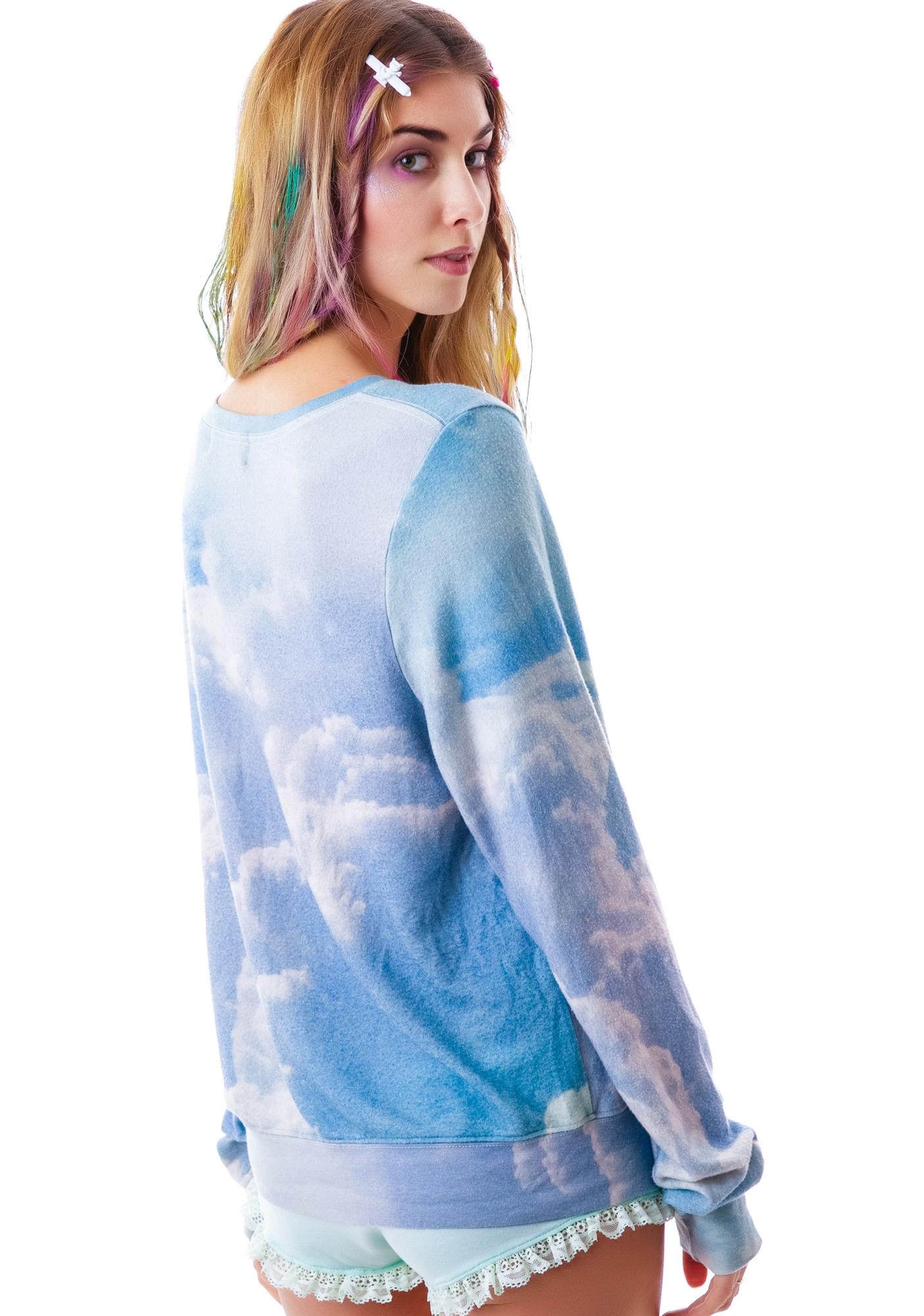 Wildfox Couture Earth Girls Baggy Beach Jumper