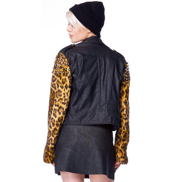 UNIF Bad Kitty Rider Jacket