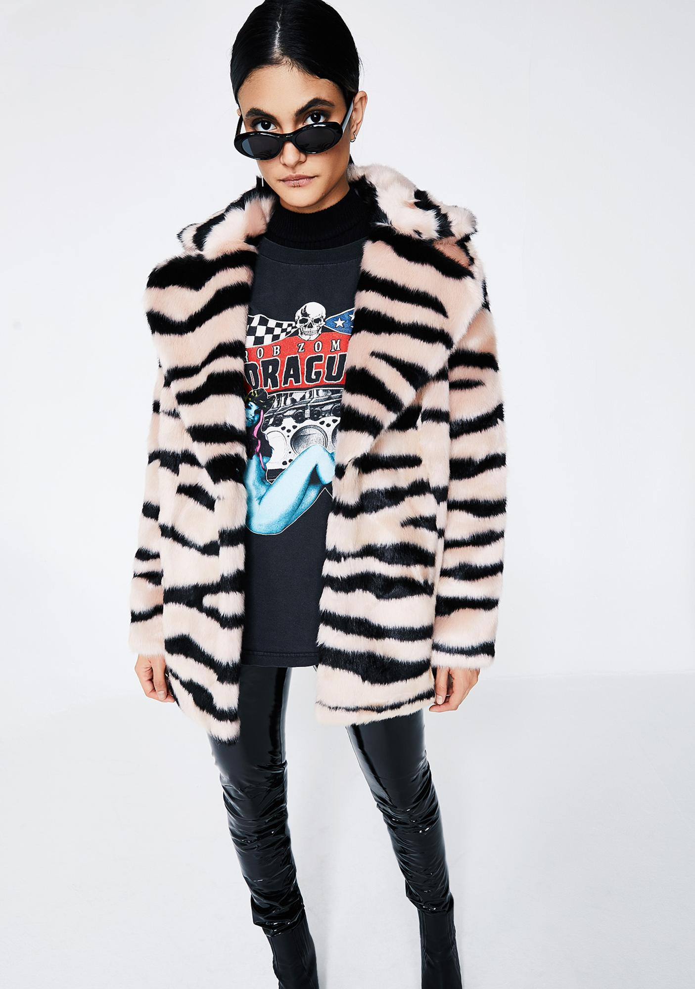 Jakke Tiger Heather Coat