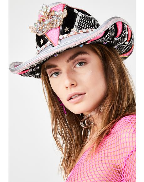 Sheriff Of Soul Cowgirl Hat