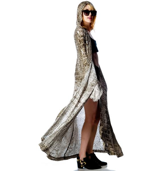 One Teaspoon Dundee Print Cape