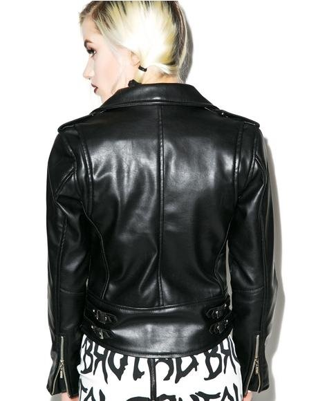 Vegan Biker Jacket