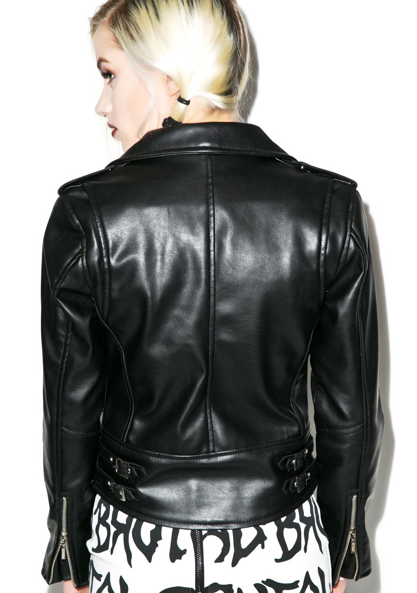 Killstar Vegan Biker Jacket