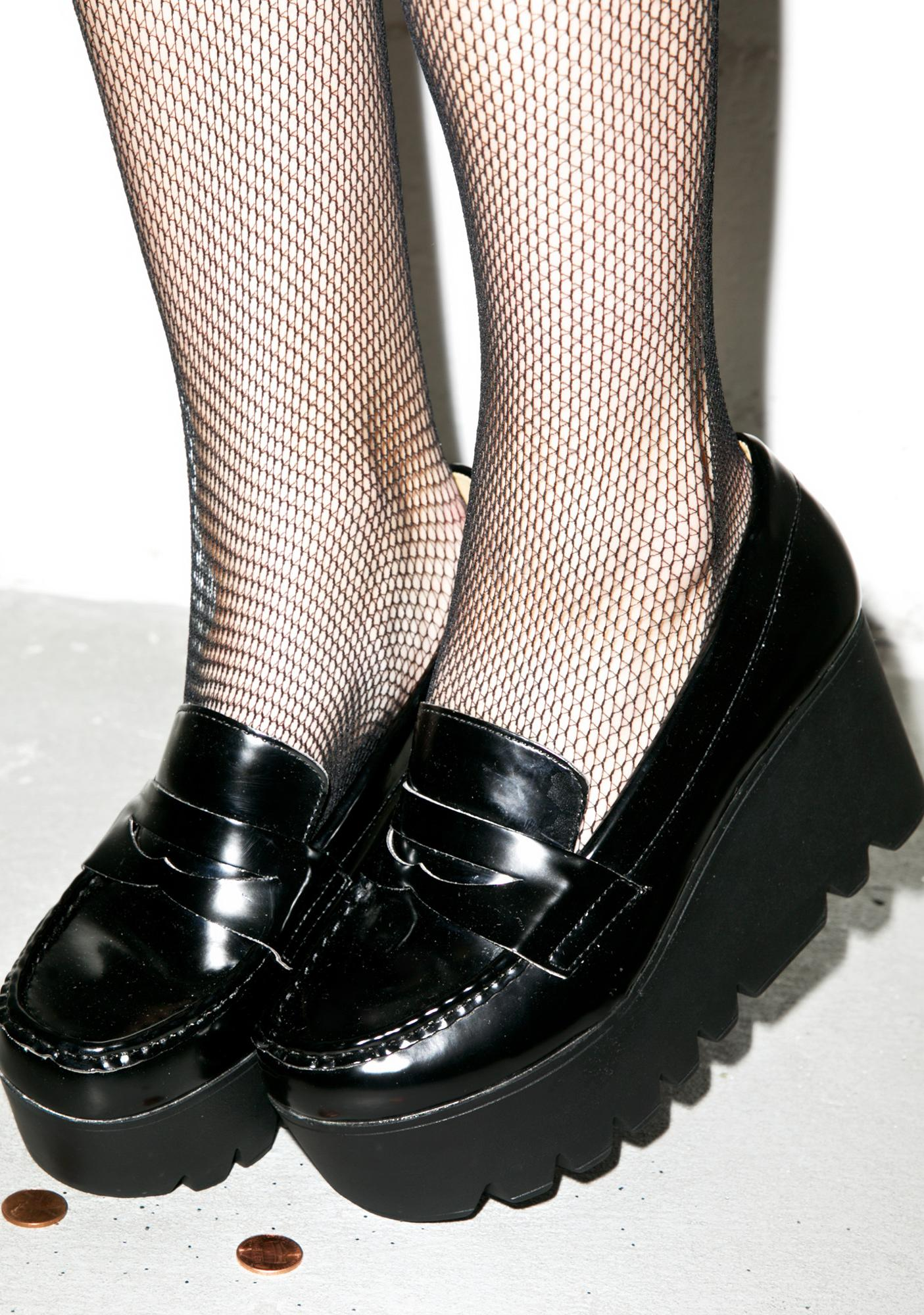 Mob'n In Mah Platform Loafers