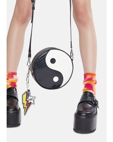 Yin And Yang Crossbody Bag