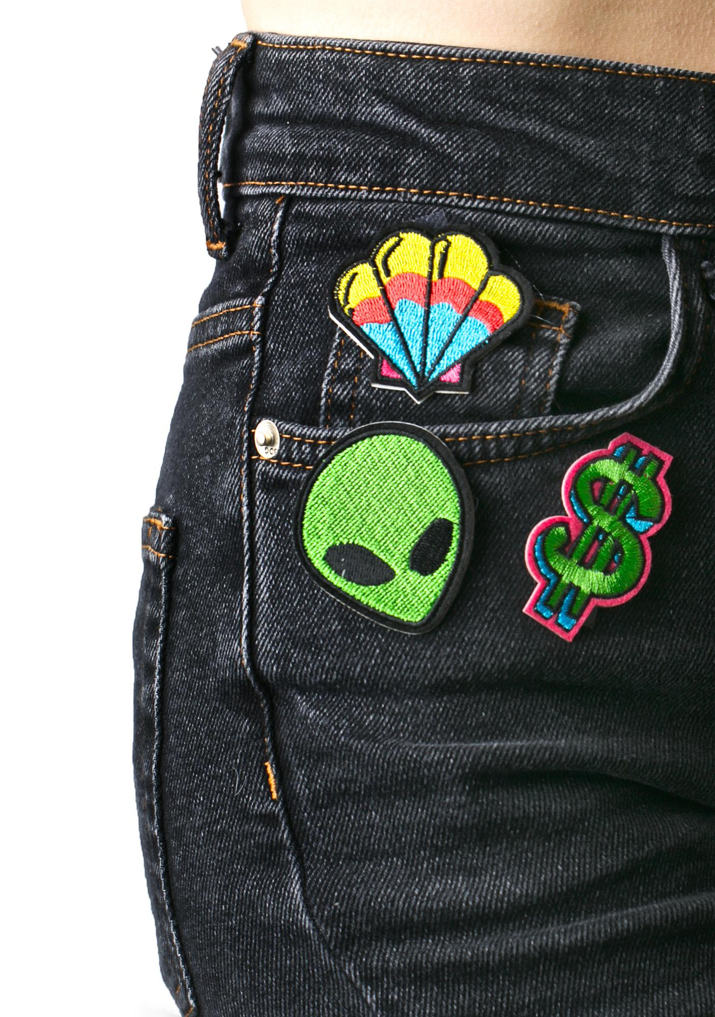 Love And Madness Alien Patch