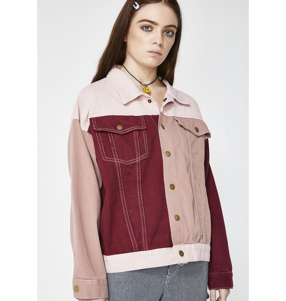 Momokrom Colorblock Jacket