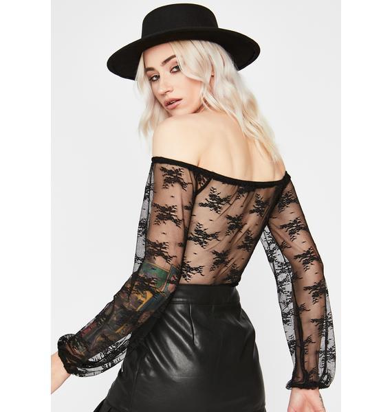 Bohemian Bandit Lace Bodysuit