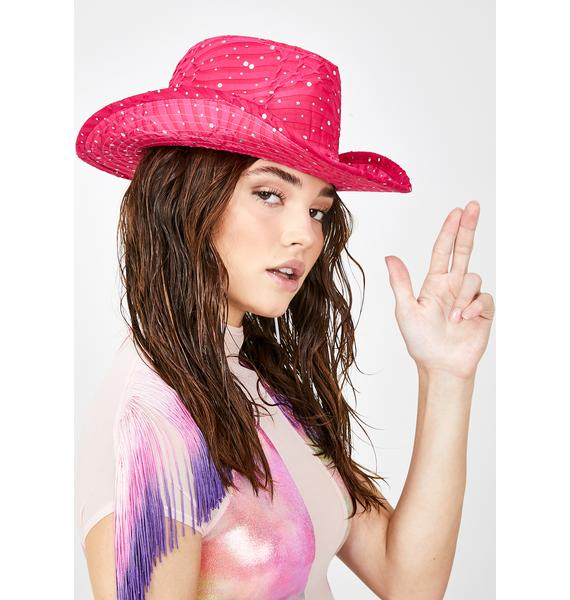 Candy Moonshine Magic Cowgirl Hat
