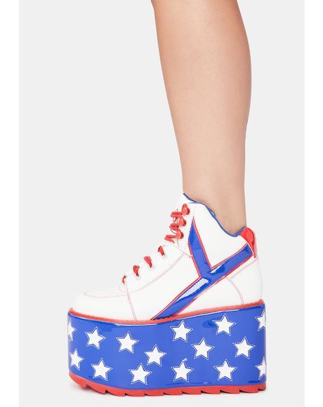 Star Qozmo Platform Sneakers