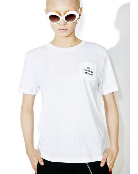 F Boys Pocket Tee