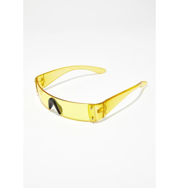 Bee Future Hustle Shield Sunglasses