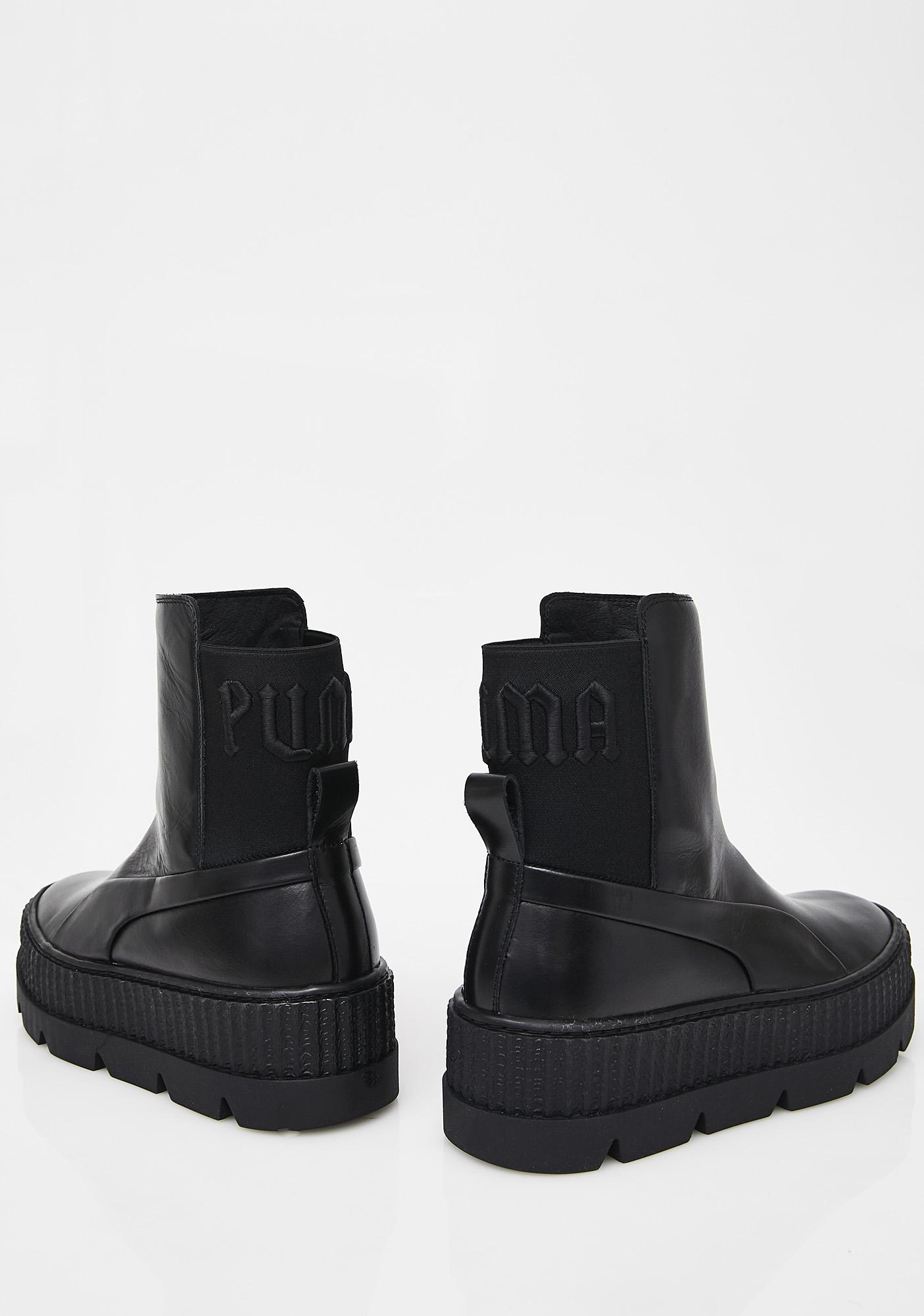 6f72b49f6eabe3 ... PUMA FENTY PUMA By Rihanna Chelsea Sneaker Boots ...