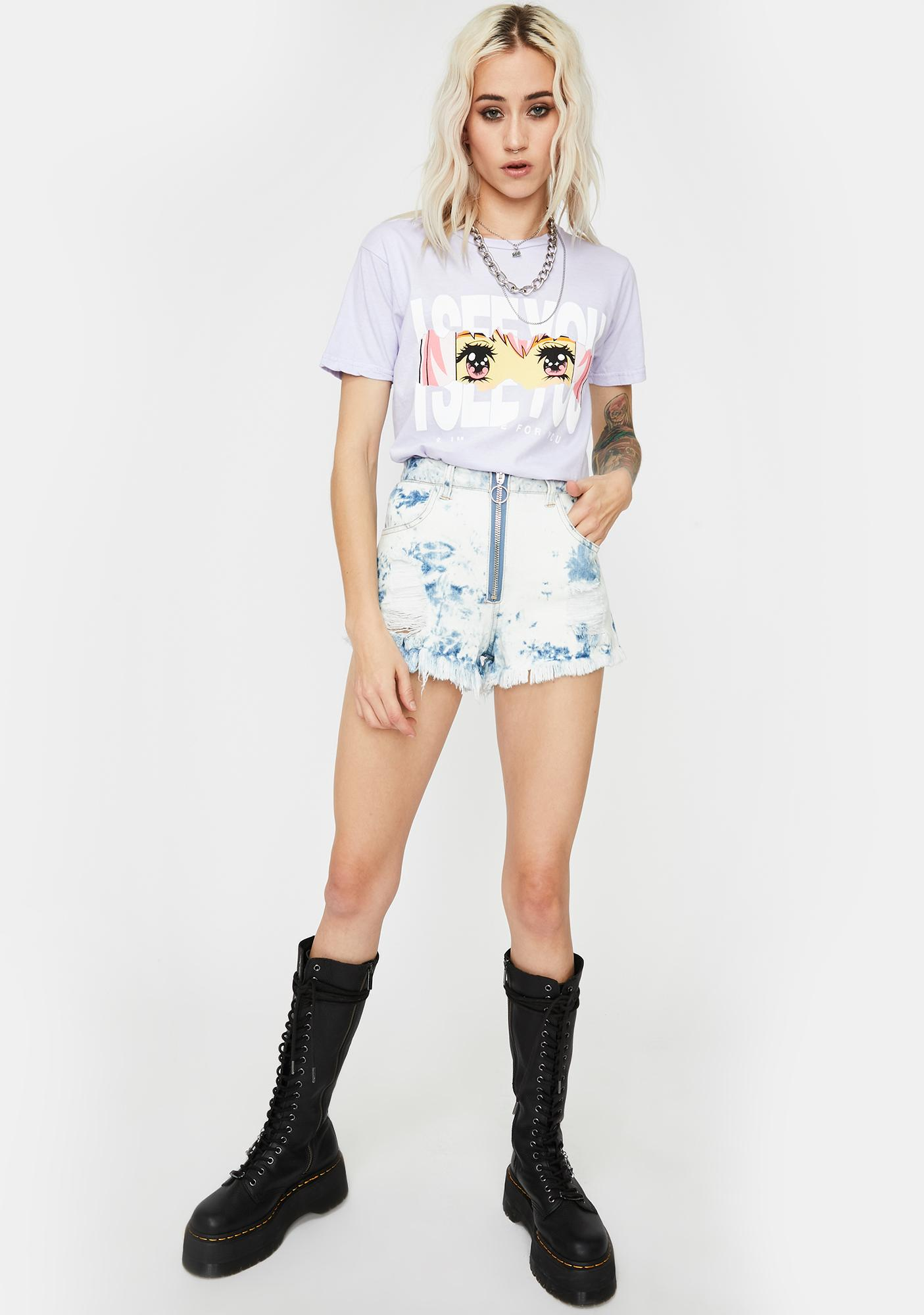 By Samii Ryan Lavender Here For You Graphic Tee