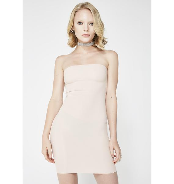Kiki Riki Nude Last One Standing Bodycon Dress