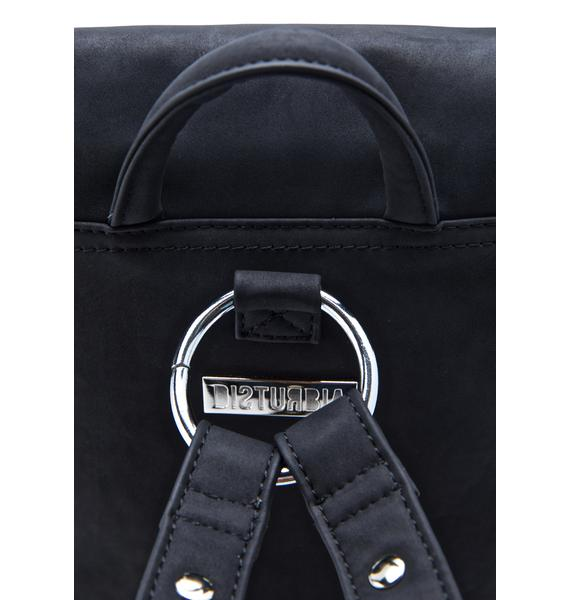 Disturbia Metal Backpack