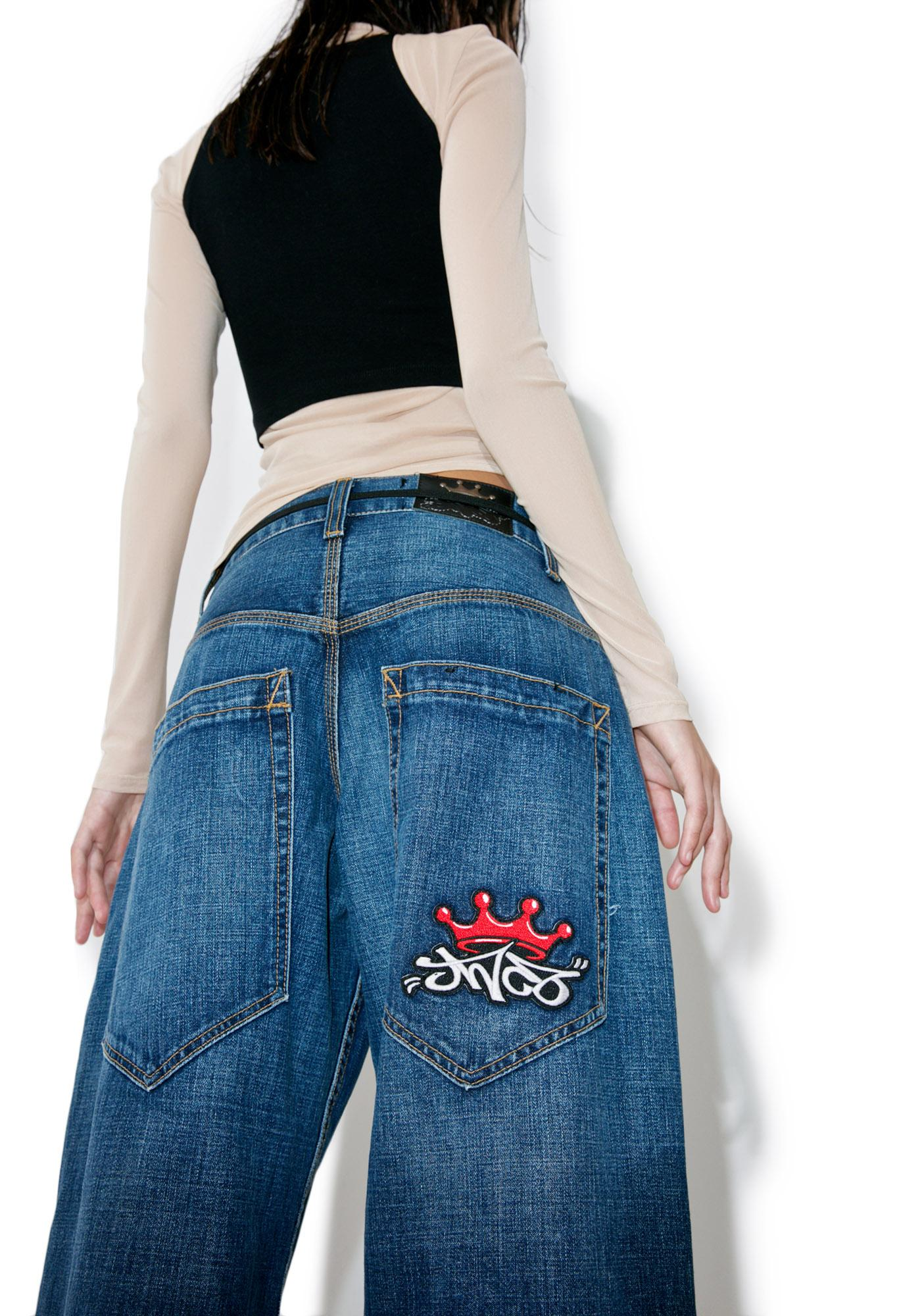 JNCO Classic Half Pipe Jeans