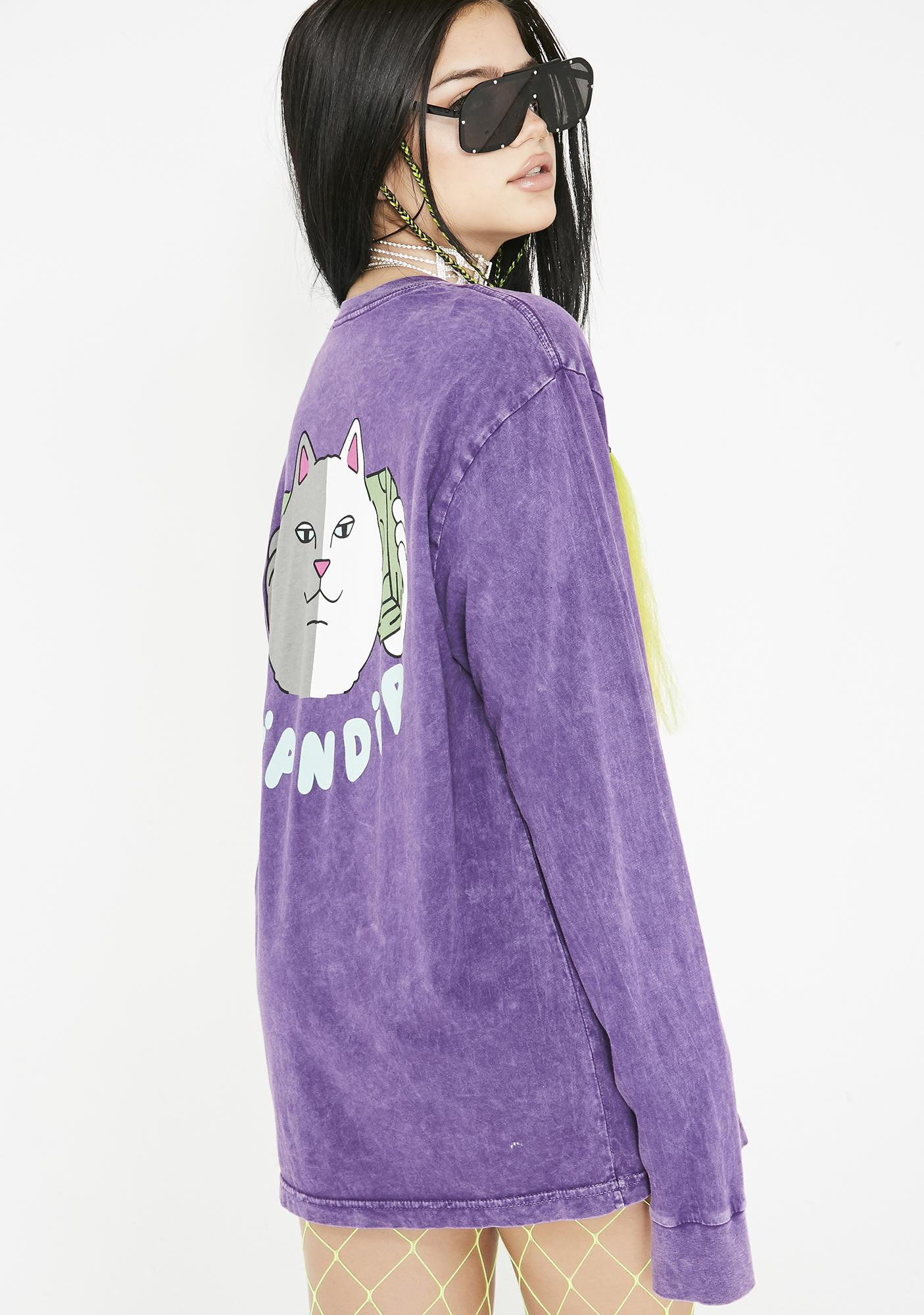 RIPNDIP Money Talks Long Sleeve