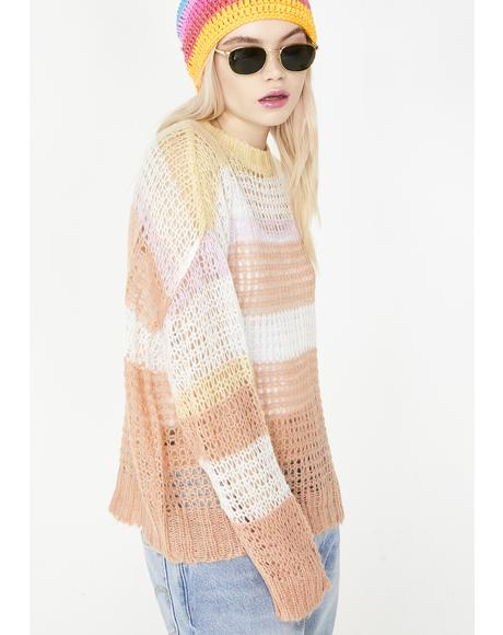 Malibu Sunrise Knit Sweater