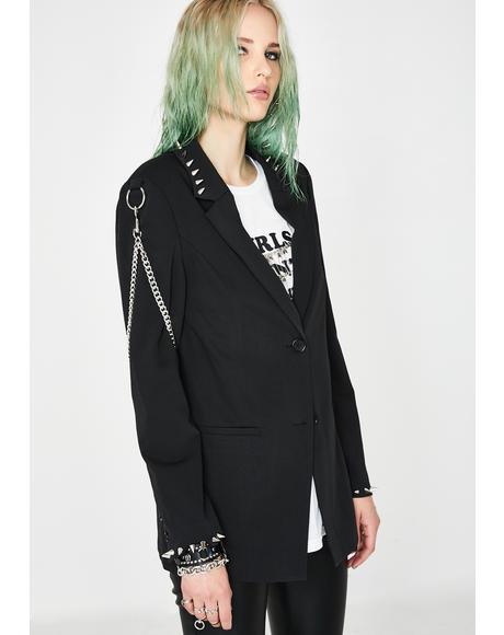 Professional Outcast Studded Blazer