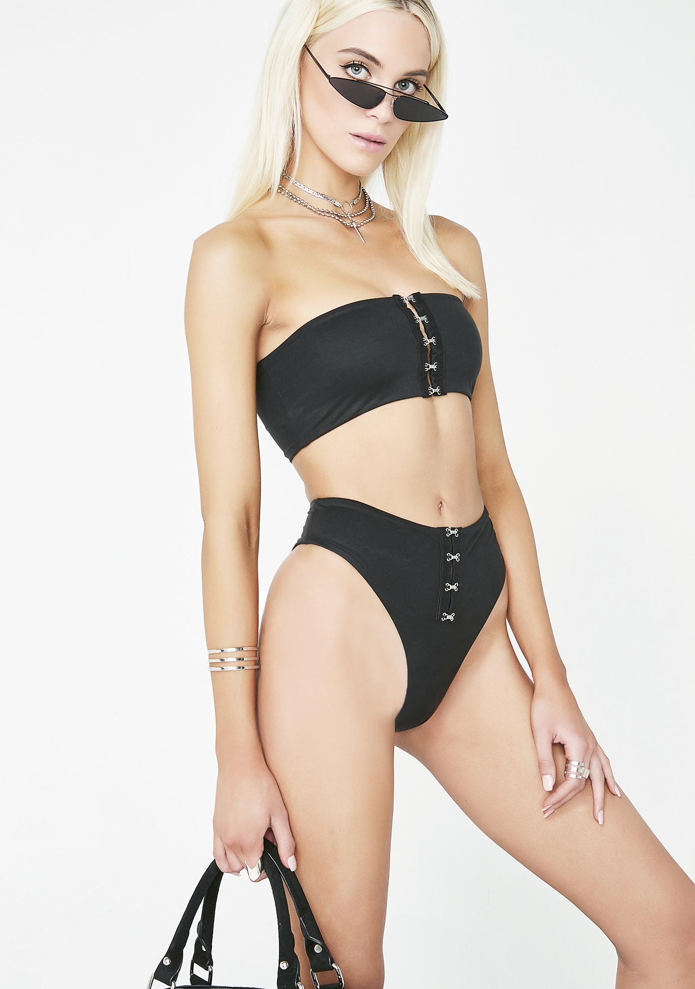 Nada Swim Chambers Bikini Top