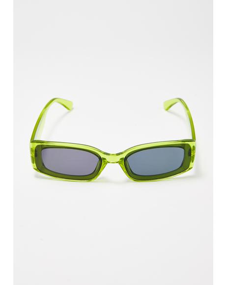 Plasma Prism Square Sunglasses