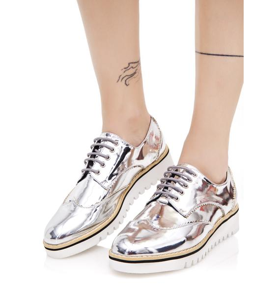 Chrome Critique Platform Oxfords