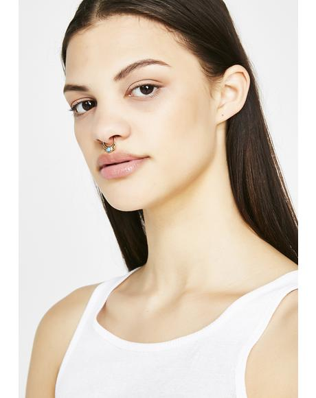 Crystal Waters Septum Ring