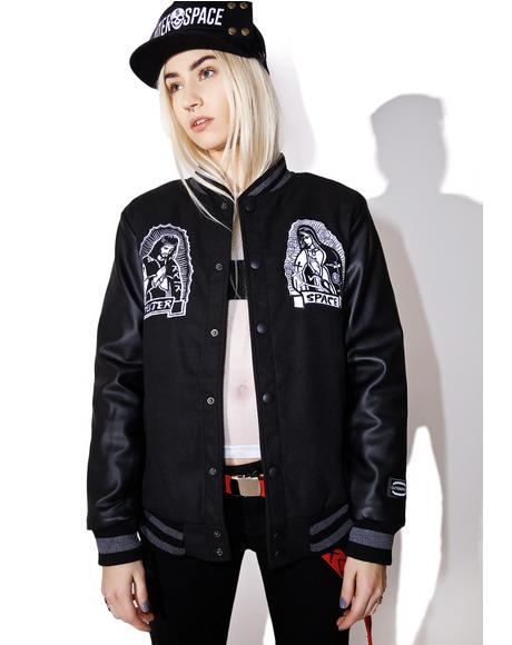 Jesus Kanji Varsity Jacket