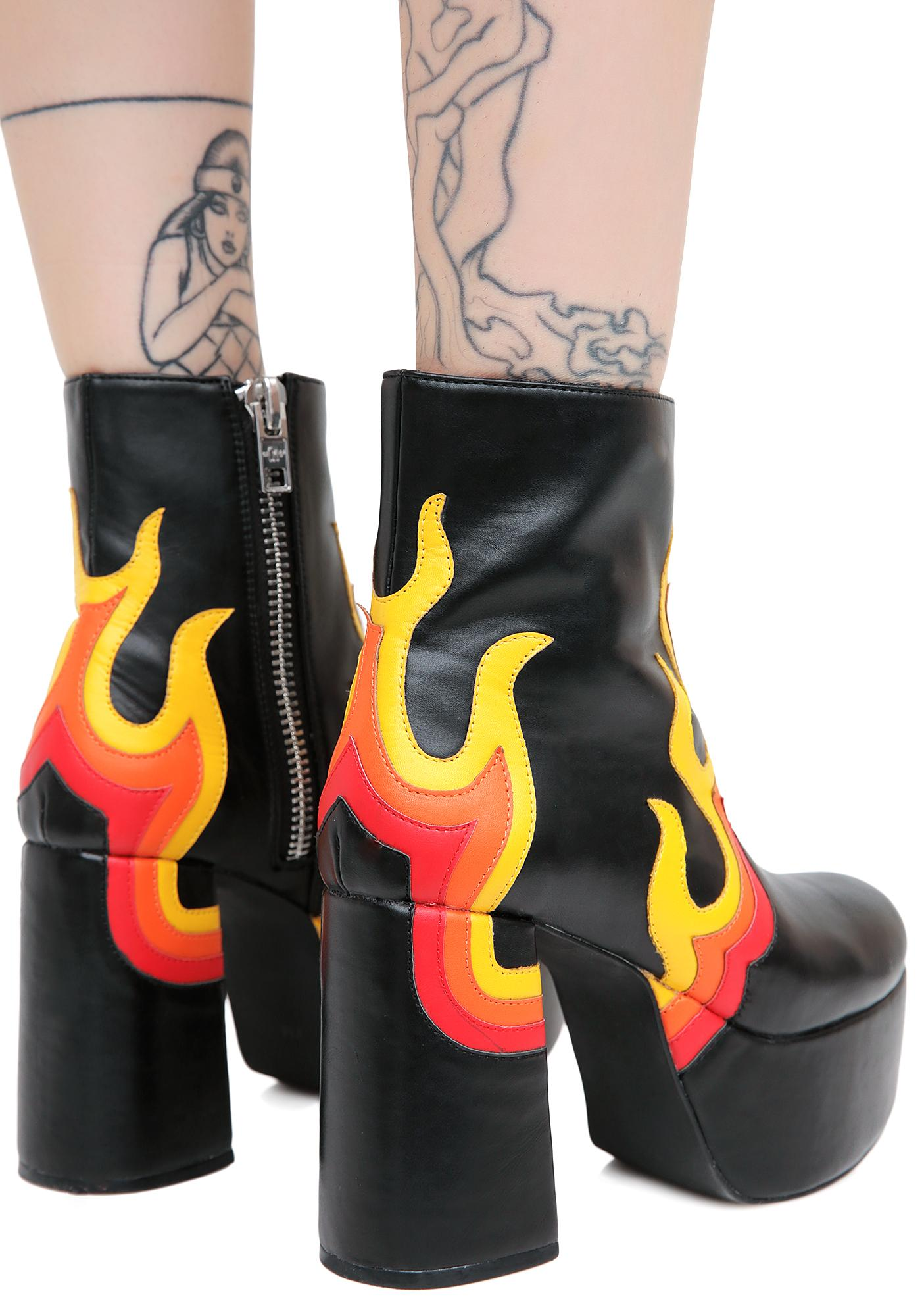 Current Mood Burner Boots