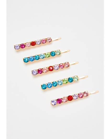 Trust In Luxe Gemstone Hair Pins