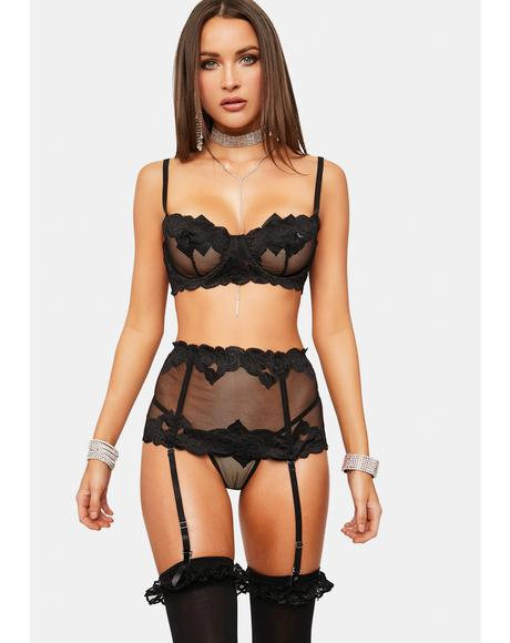 How I Feel Mesh Lingerie Set