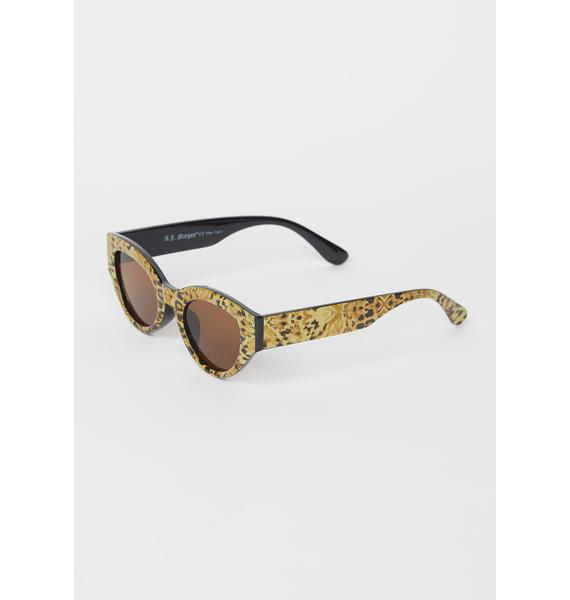 Wild By Nature Cheetah Sunglasses