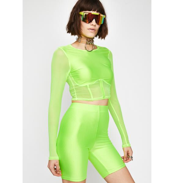Nuclear Baddies Only Shorts Set