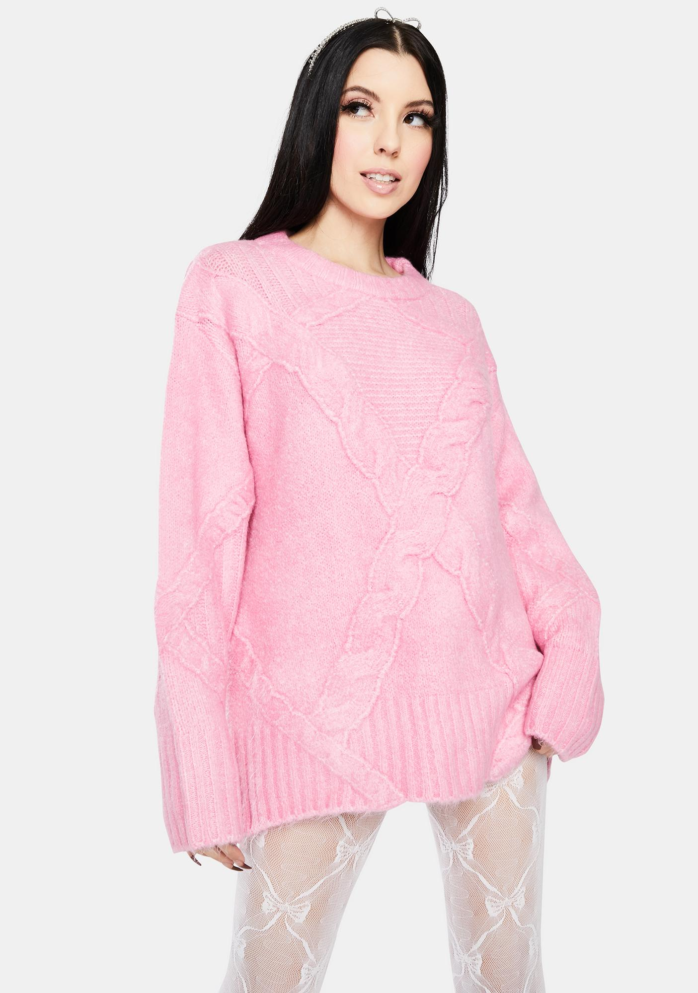 For Love & Lemons Carly Knit Sweater