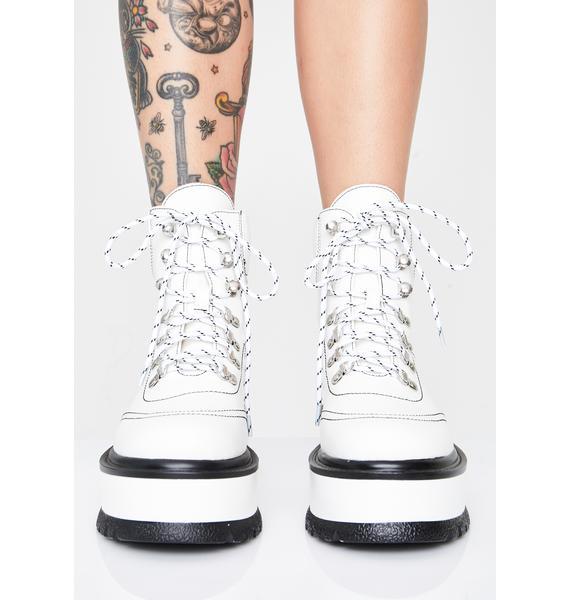 Koi Footwear Hydra Matrix Platform Boots