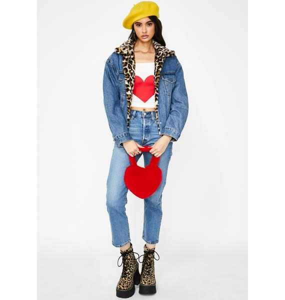 Levis Jive Song 501 Crop Jeans