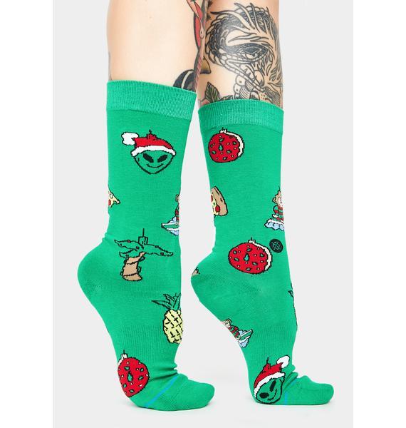 Stance Xmas Ornaments Crew Socks