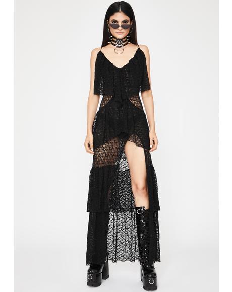 Fallen Romance Lace Dress