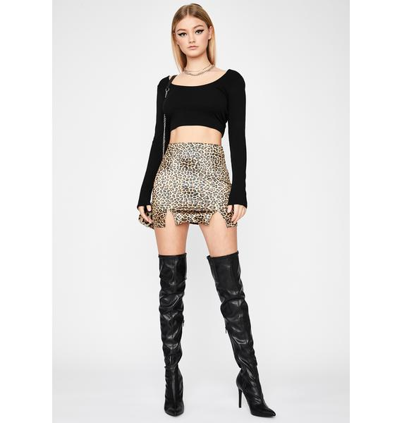Bad To Me Backless Crop Top