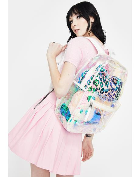 Iridescent All Clear Backpack