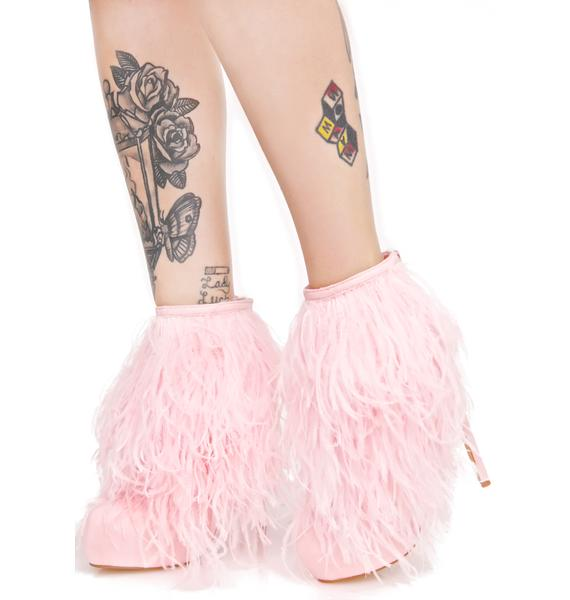 Privileged Candy Suri Fluffy Booties