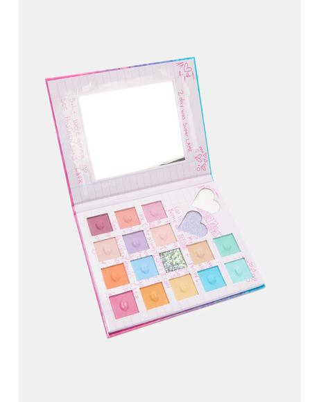 Dear Diary Eyeshadow Palette